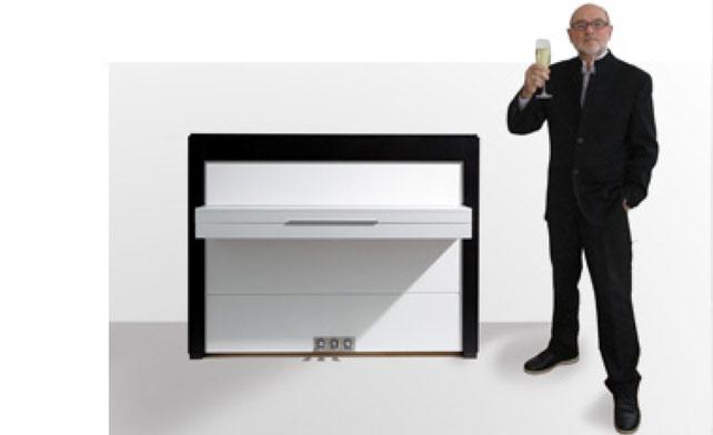 20 Jahre erfolgreiche Zusammenarbeit - Sauter Piano-Manufaktur und Peter Maly Design