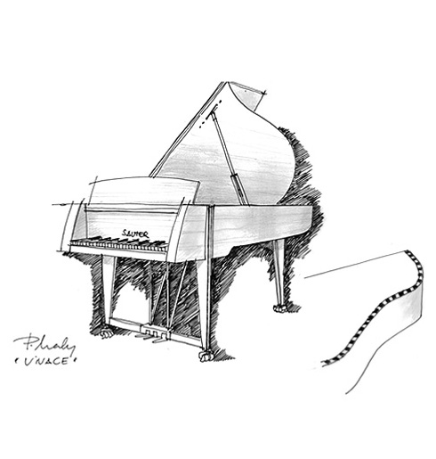Into Contemporary Living Environments And On The Discovery That A Piano Is An Obvious Part Of Modern Should Be Designed To Reflect Fact
